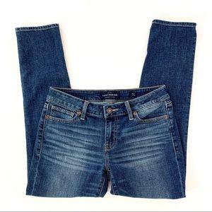 Lucky Brand Jeans Lolita Crop Blue 4/27